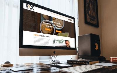 RICE Kitchen WordPress Redesign