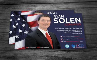 Postcard Design for Campaign